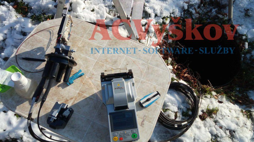 Optická síť AC Vyškov